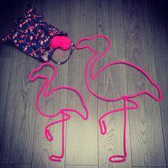 Et un flamant format XXL, un... #commandepersonnalisée #flamingo #flamantrose…