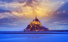 All you need to know about the world's most remarkable places in 60 seconds.   This week: Mont St Michel in Normandy.