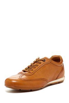 info for 56f07 5376d Giorgio Armani Leather Sneaker Sneaker Lace-upMen Shoes