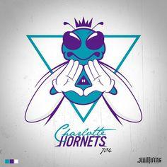 "Art of the Day: Charlotte Hornets ""Illuminati"" logo Basketball Art, Basketball Pictures, Nba, Pencil Drawings Of Animals, Charlotte Hornets, Sports Logo, Art Day, Smurfs, Geek Stuff"