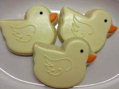 Rubber Duckie Decorated Sugar Cookies by DecoratedDesserts on Etsy