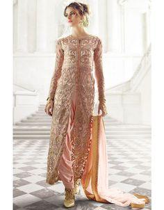 Magnificent Pink Designer Suit