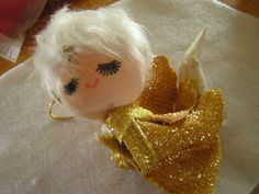 vintage Christmas angel ornament. Still have this one!