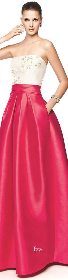 Pronovias 2015 EVENING Dresses women fashion outfit clothing style apparel @roressclothes closet ideas