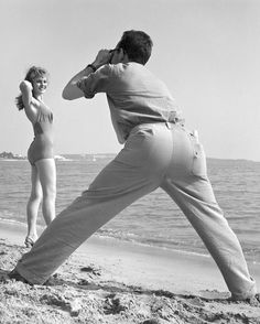 """ Photoshoot '' Cannes 1955-1959. photo: Kees Scherer"