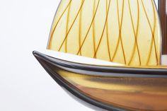 The Amber Sailboat by Artsyglasswebshop on Etsy