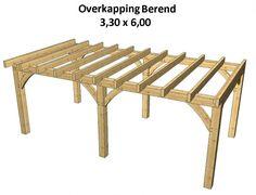 Afbeeldingsresultaat voor bouwtekening veranda overkapping