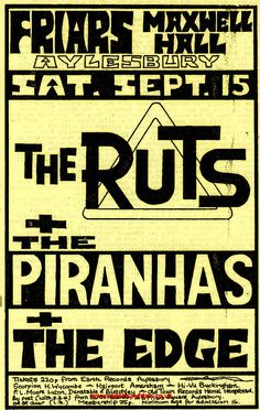 Music Posters, Concert Posters, Uk Gov, Gig Tickets, British Punk, House Of Lords, 70s Punk, Music Flyer, House Of Commons