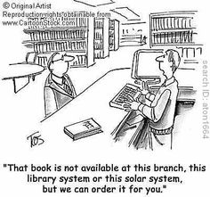 Librarian Humor - that is what I used to do (find books) inter-library loan Library Memes, Library Quotes, Library Books, Cartoon Memes, Funny Cartoons, Reading Quotes, Book Quotes, Librarian Humor, Teacher Librarian
