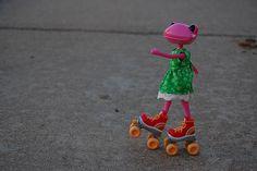 Skating Wonderfrog!