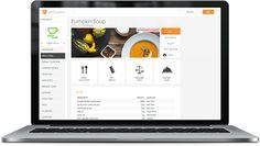 vitalCustomer web app for recipe management