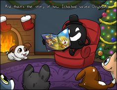 Ichabod the Optimistic Canine :: The Brightest Corgi of Them All   Tapastic Comics - image 13
