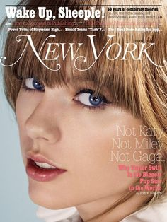 """New York Magazine article by: Jody Rosen """"Why Taylor Swift Is the Biggest Pop Star in the World"""" Read it here: http://www.vulture.com/2013/11/taylor-swift-reigning-queen-of-pop.html"""