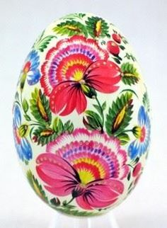 Fint målat ägg