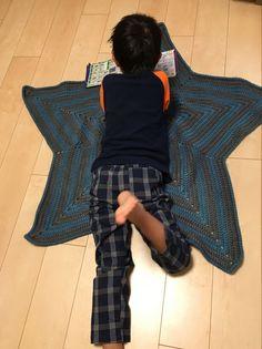 星型ブランケットの編み方① - Ami-Chiku labo