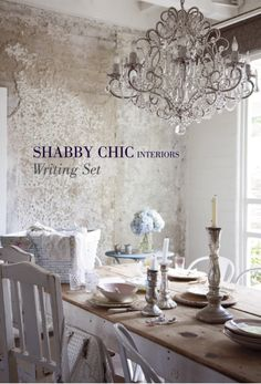 Shabby Chic Interiors Writing Set