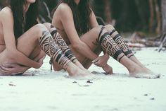 never will do that, but looks fucking fabulous - Modern Body Art Tattoos, Tribal Tattoos, Tatoos, Beach Tattoos, Ta Moko Tattoo, I Tattoo, Happy Tattoo, Calf Tattoo, Arnhem Clothing