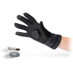 """Star Wars Darth Vader Force Glove $19.99  Just switch out the types of magnets labeled for """"Force push"""" or """"Force pull"""" and you've got polar opposite magnetized gloves capable of repelling or pulling magnetic objects! The Force Glove comes with cutouts of droids for Force pushing, a lightsaber for Force pulling, and a fun learning guide!"""