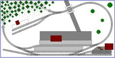 Model Train Layouts Track Plans in N scale - Various projects, designed with SCARM layout software