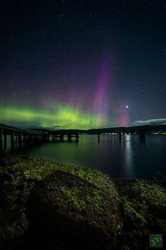 Aurora Australis (southern lights)