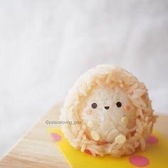 Les personnages en boules de riz de Peaceloving Pax  2Tout2Rien