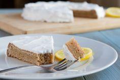 Keto Lemon Cake #lowcarb #eggfree #nutfree #grainfree #paleo #dairyfree #sugarfree