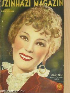 Szinházi Magazin -1941. No. 44. Bajor Gizi.