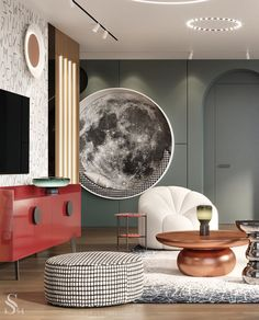 Room Design Bedroom, Diy Bedroom Decor, Home Decor, Room Interior, Interior Design, Classic Living Room, Contemporary Interior, Interior Architecture, Furniture Design
