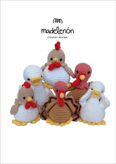 "Madelenón crochet pattern ""My Farm 2"""