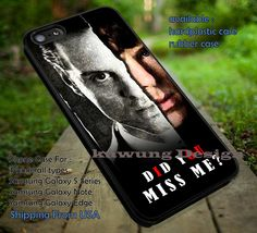 Did You Miss Me Quote Moriarty iPhone 6s 6 6s 5c 5s 4s Cases Samsung Galaxy s3 s4 s5 s6 Edge NOTE 5 4 3 2 Covers #movie #supernatural #superwholock #sherlock #doctorWho dt