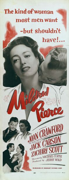 1945-- This was a good movie, but that daughter Veda - what a little bitch!!! And that sleeze Monty!!