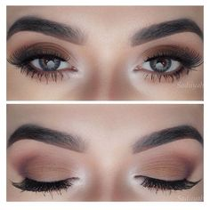 8 Quick Steps To Stay Put Eyes Eye Makeup Tips ❤ liked on Polyvore featuring beauty products and makeup #MyBeautyProductsTip