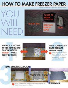 How To Make Freezer Paper
