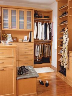 10 Stylish Walk-in Bedroom Closets