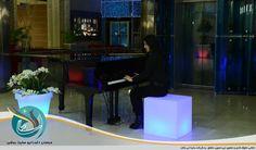 صندلی مکعب نورانی و گلدان نورانی در دکوراسیون داخلی و نورپردازی کنسرت ها