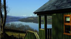 One bedroom lodge view at Bracken Lodges Self-Catering Holiday Loch Tay Kenmore Killin Perthshire