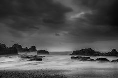 A ship will come... #photo from Sawarna Beach, Indonesia, just before the rain.