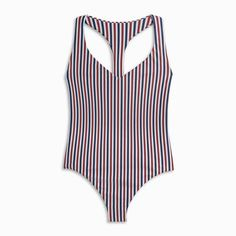 A sleek little one piece is always bad news for those who aren't prepared for the effects of slipping on a suit this jaw dropping. Whether it's chillin' by the