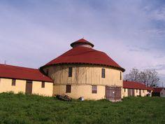 Round barn in Kansas