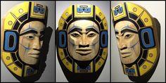 """Progenitor Moon"" North Coast, West Coast, John Wilson, Tlingit, Indigenous Art, Totems, Native Art, First Nations, Pacific Northwest"