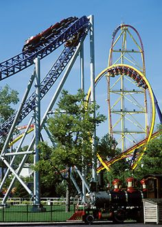 Cedar Point for REAL roller coasters!