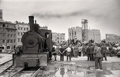 Rising from the Ruins - Pictures of Warsaw, Poland in 1950 ~ vintage everyday