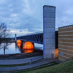 Trogbrücke über die Elbe