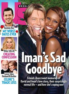 Iman Bowie, Iman And David Bowie, David Bowie Fashion, Star David, Normal Life, Cover Photos, Confessions, Celebrity News, Love Story