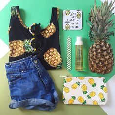 WEBSTA @ forever21 - Sweet like pineapple  @hungryhipsters (shop link in bio)