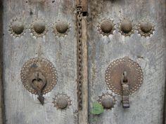 Old persian door knockers