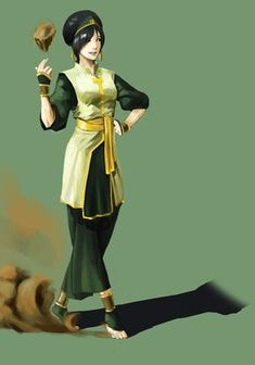 from Avatar : the legend of Aang. And she is my favorite Toph bei fong Avatar Aang, Avatar Airbender, Avatar Legend Of Aang, Team Avatar, Legend Of Korra, Broly Ssj3, Avatar Cartoon, The Last Avatar, Avatar World