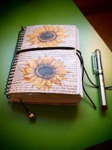 """Decopage  """"Cuadernos de Viaje"""""""