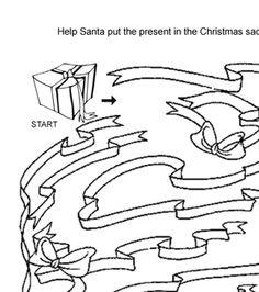 Christmas Present Maze