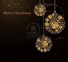 Steampunk Christmas card